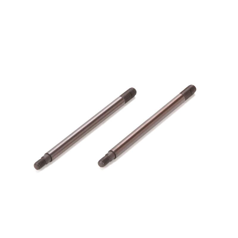 Rear Shock Shaft, TiCN (2): SCTE
