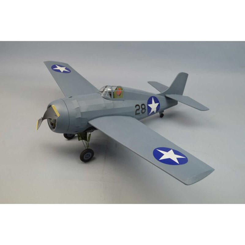F4F Wildcat Rubber Powered Kit, 30""
