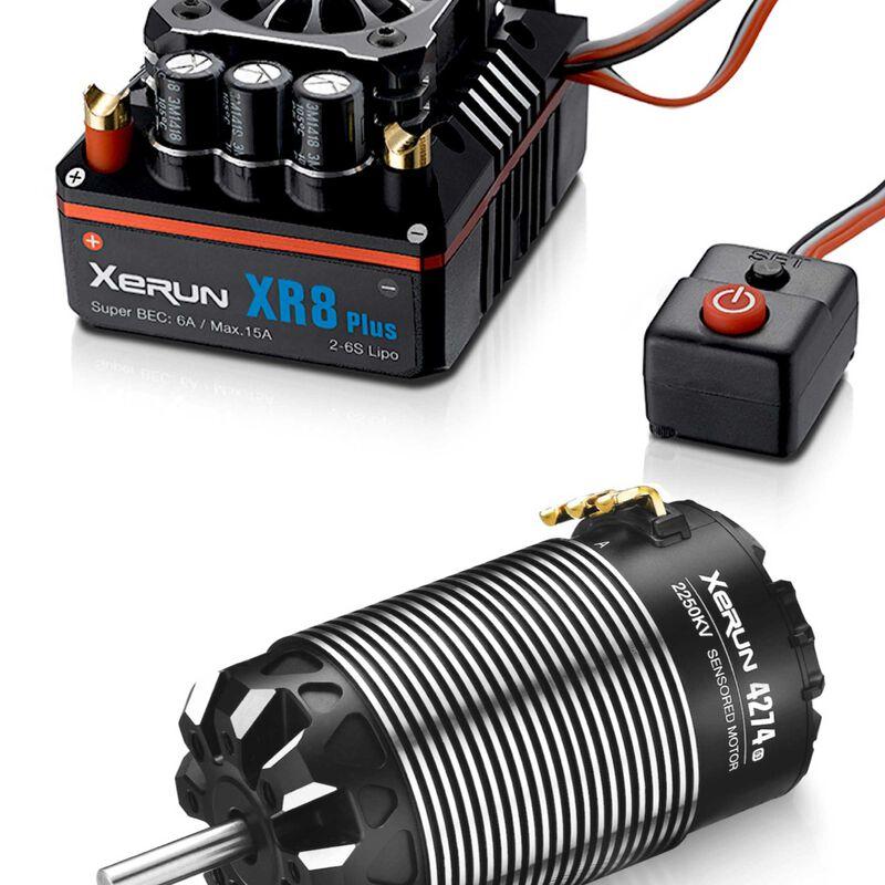 XR8 Plus + 4274 G3 Motor Combo, 2250Kv