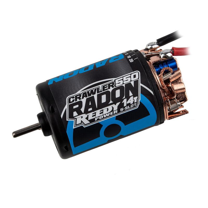 Reedy Radon 2 Crawler 550 14T 5-Slot 1600Kv Motor