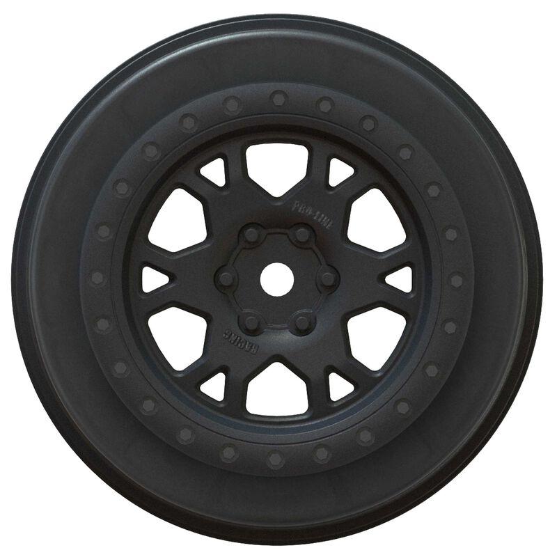 Impulse Black Wheels: SCTE 4X4, SC10 4X4, ProTrac F/R