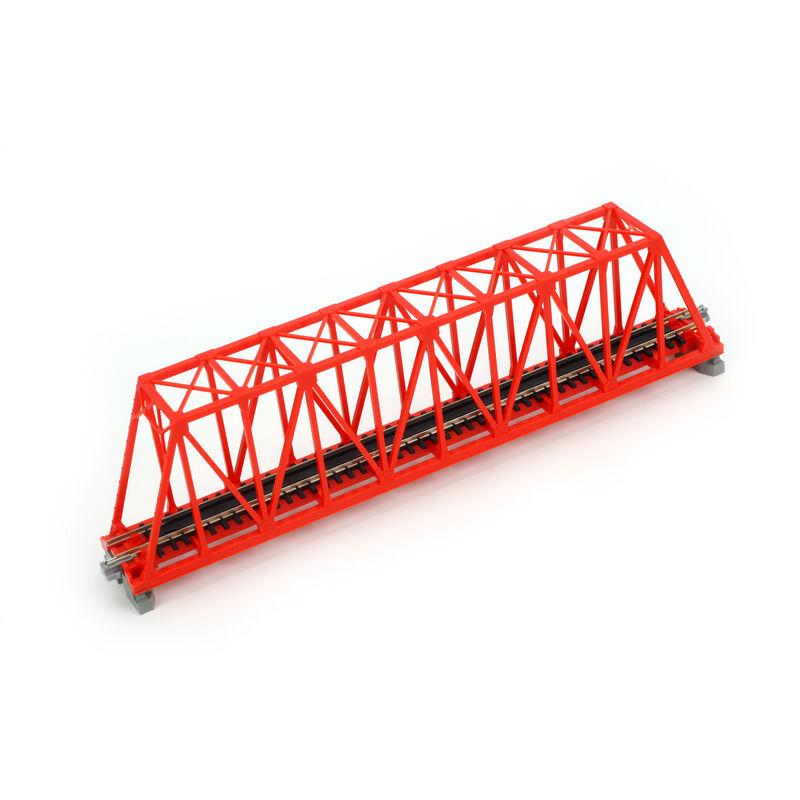 "N 248mm 9-3/4"" Truss Bridge, Red"