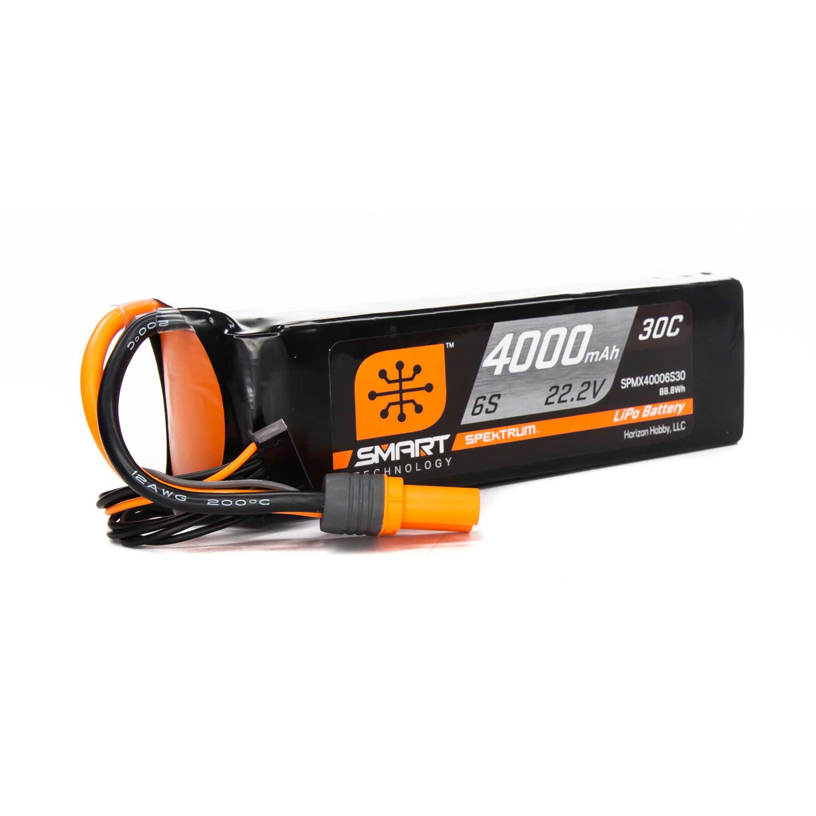 22.2V 4000mAh 6S 30C Smart LiPo Battery, IC5