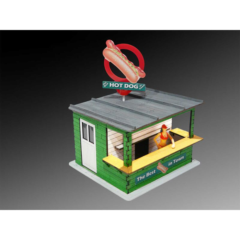 Hot Dog Stand with Light & Rotate Banner Laser-Cut Kit