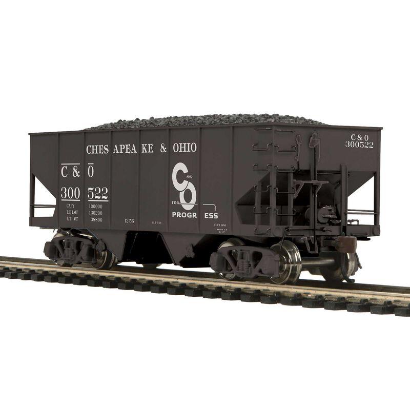 HO USRA 55-Ton Steel Twin Hopper C&O #300522