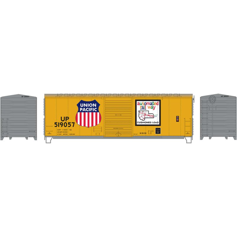 HO RTR 40' Modernized Box UP #519057