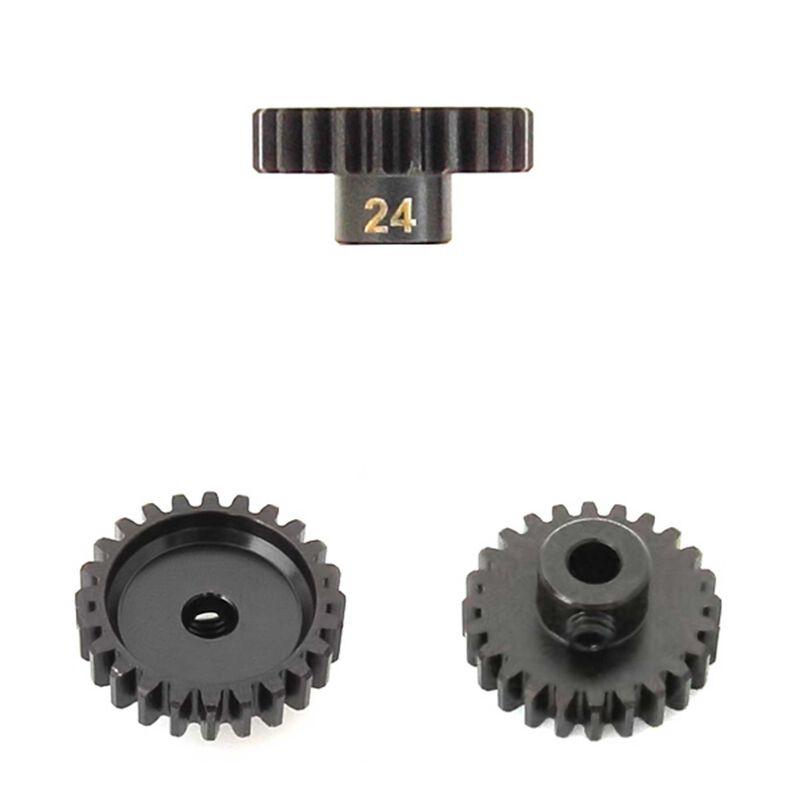 M5 Pinion Gear, 24T, MOD1, 5mm Bore, M5 Set Screw