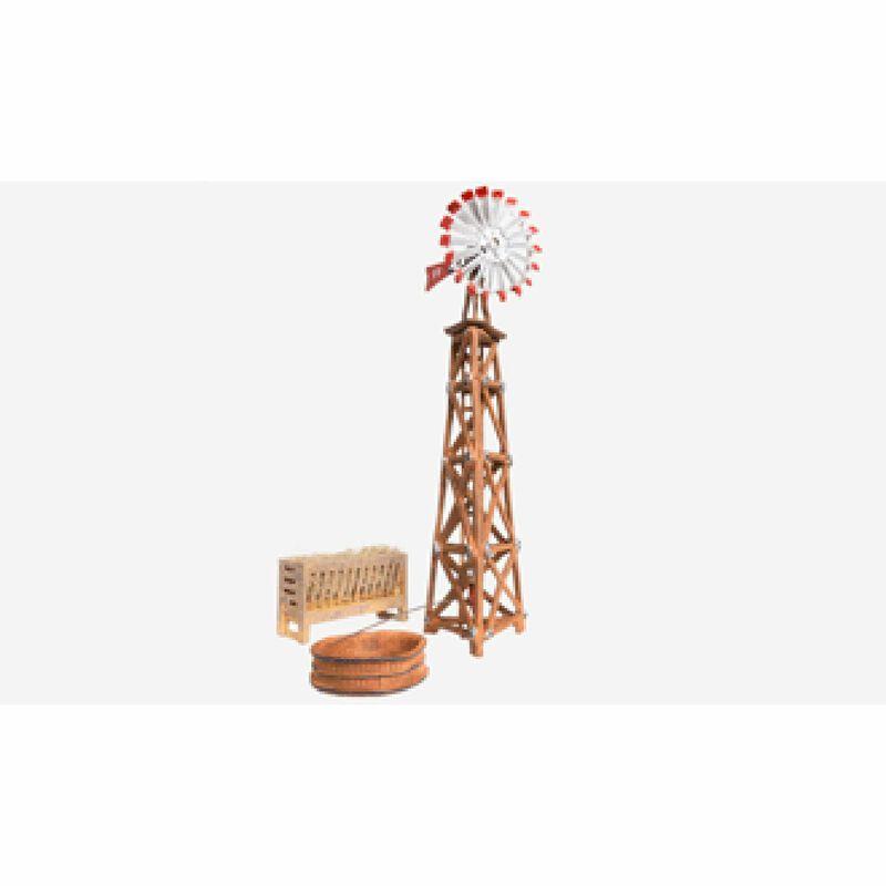 O Built-Up Windmill