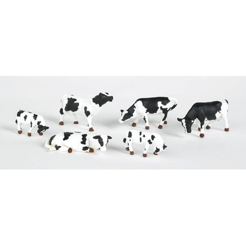 HO Cows, Black & White (6)