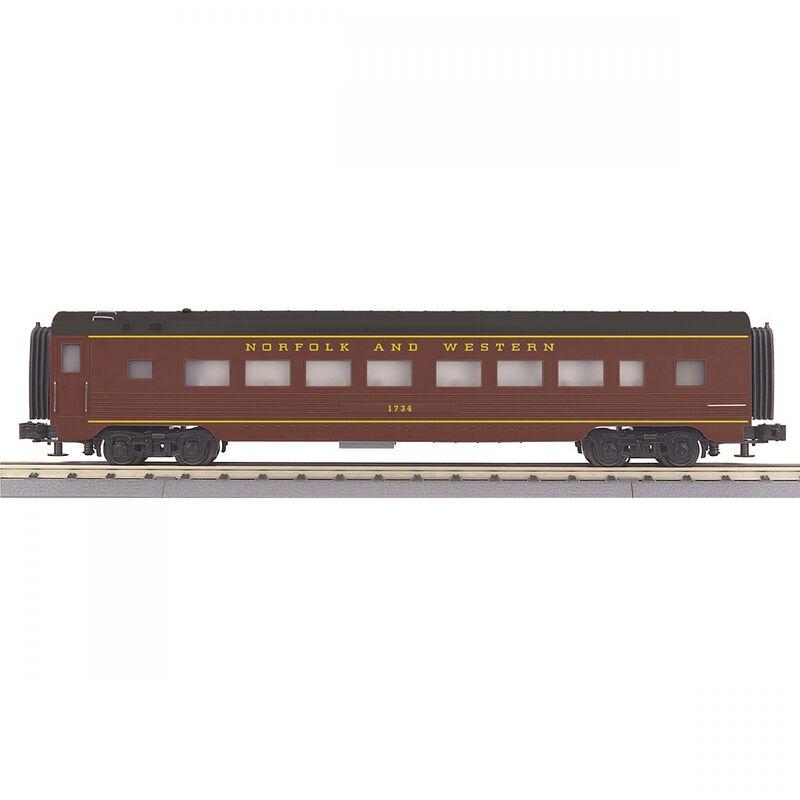 O-27 60' Streamline Coach N&W #1730
