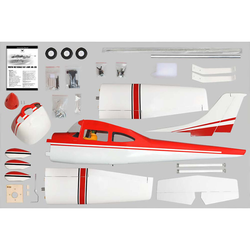 1:6 1/2 Cessna Skylane 182 .46-.55 EP ARF