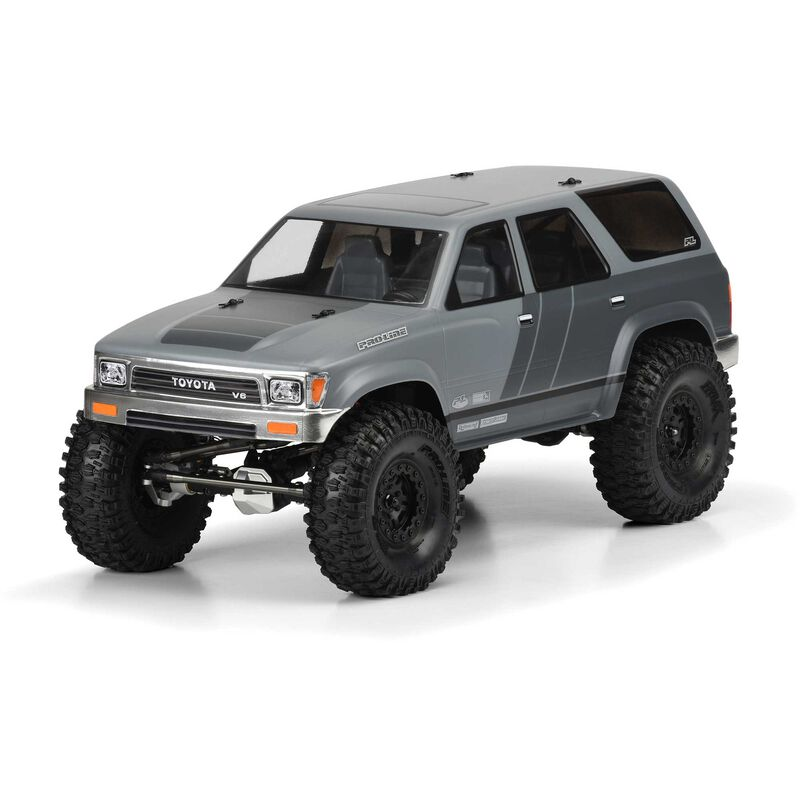 Clear Body, 1991 Toyota 4Runner with 12.3 Wheelbase: 1/10 Rock Crawlers