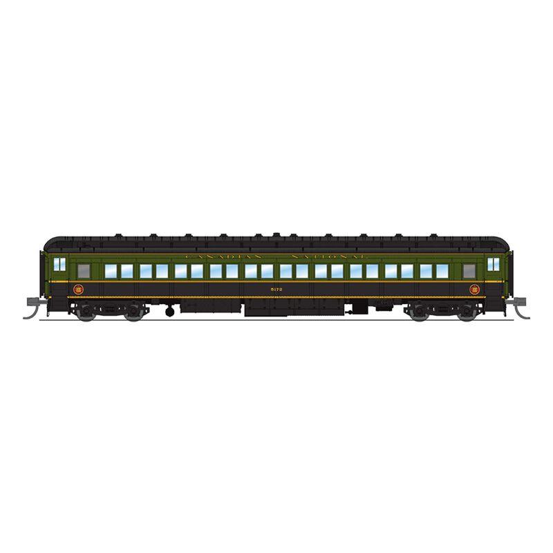 6541 CN 80' Passenger, Green & Black, Single Car,N