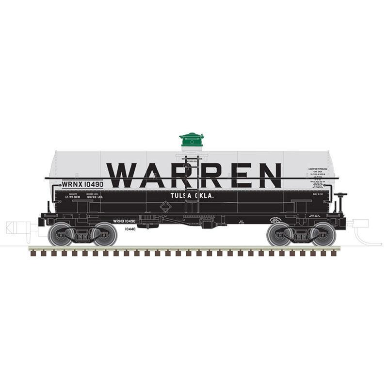 HO 11,000 Gallon Tank Car Warren #10440