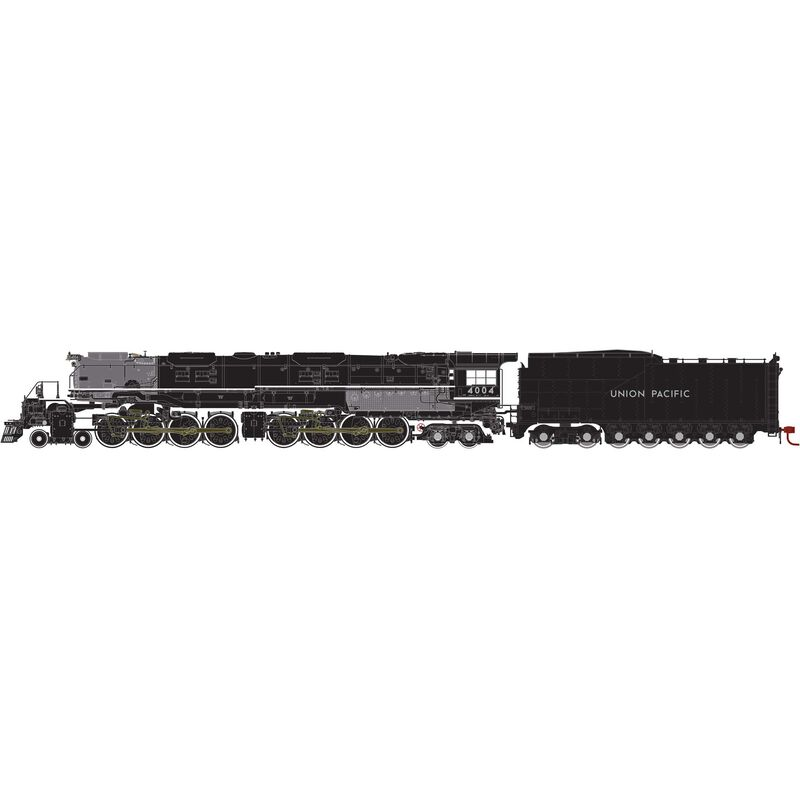 HO 4-8-8-4 Big Boy with DCC & Sound UP #4004