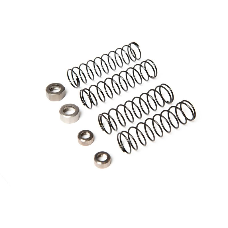 Shock Spring Cap Set: 1/10 4wd All