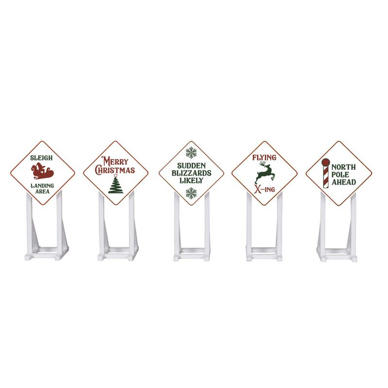 Christmas Signs 5-Pack