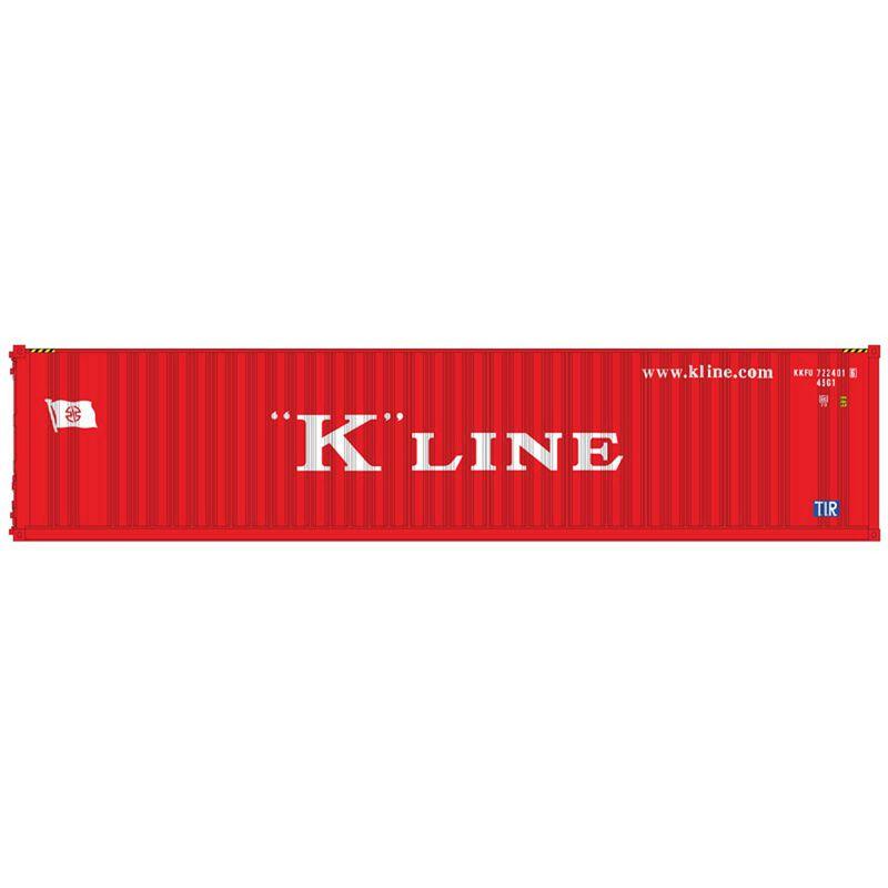 O 40' Container K-Line  KKFU 7224042/722407