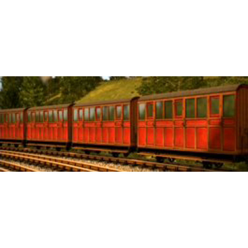 HOn30 Red Carriage