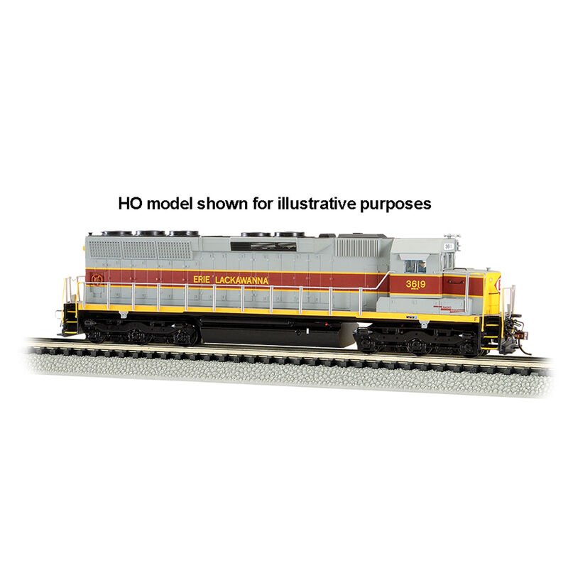 N SD45 w DCC & Sound Value EL #3619