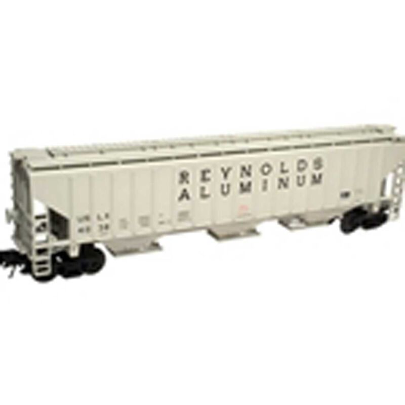 O Trainman PS 4750 Covered Hopper, Undecorated