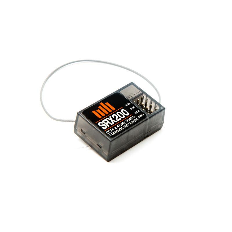 SRX200 3Ch 2.4GHz FHSS Receiver