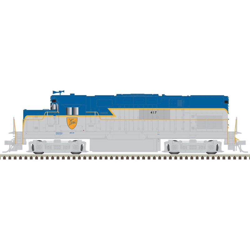 HO C420 Phase I w DCC & Sound D&H #417
