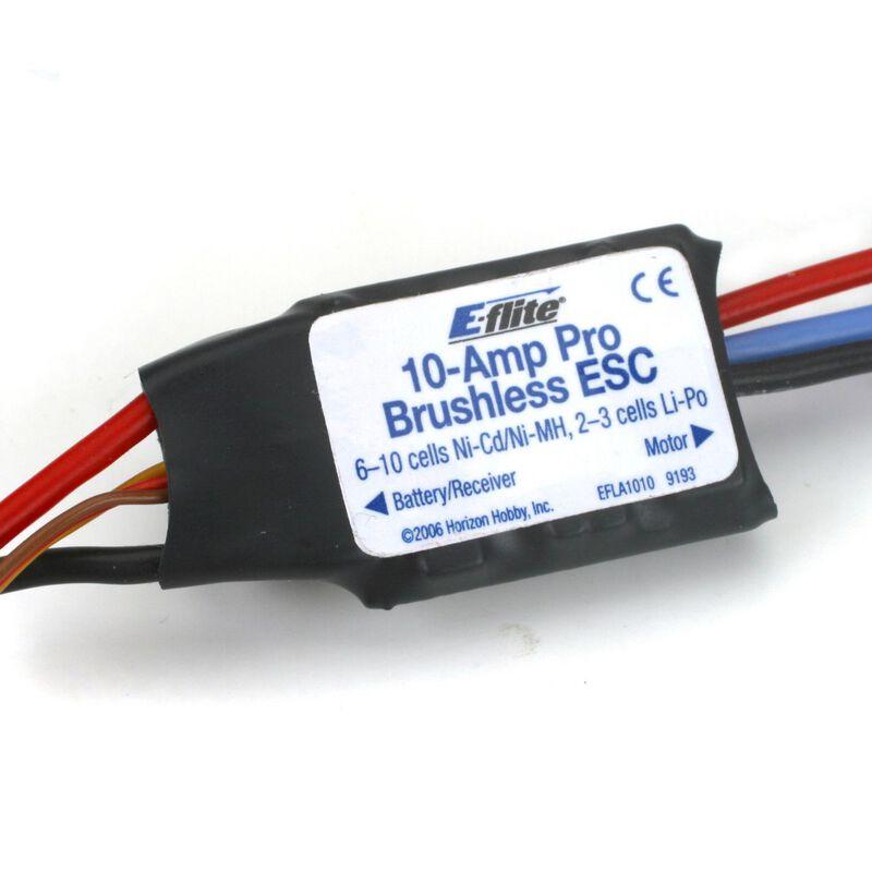 10-Amp Pro BEC Brushless ESC: JST