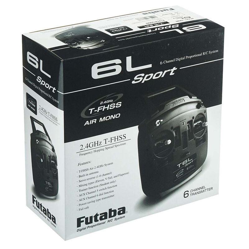 6L Sport 6-Channel T-FHSS Mono Radio System