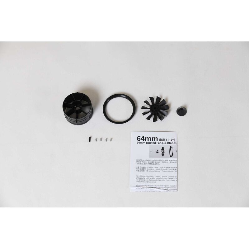 64mm Ducted Fan: F15 V2