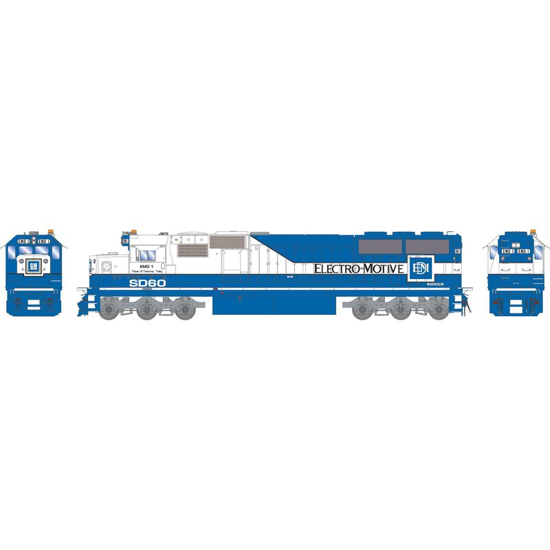 HO RTR SD60 with DCC & Sound EMD #1