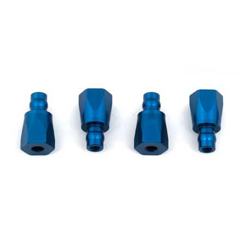 Shock Bushings, Blue Aluminum: RC8B3.1