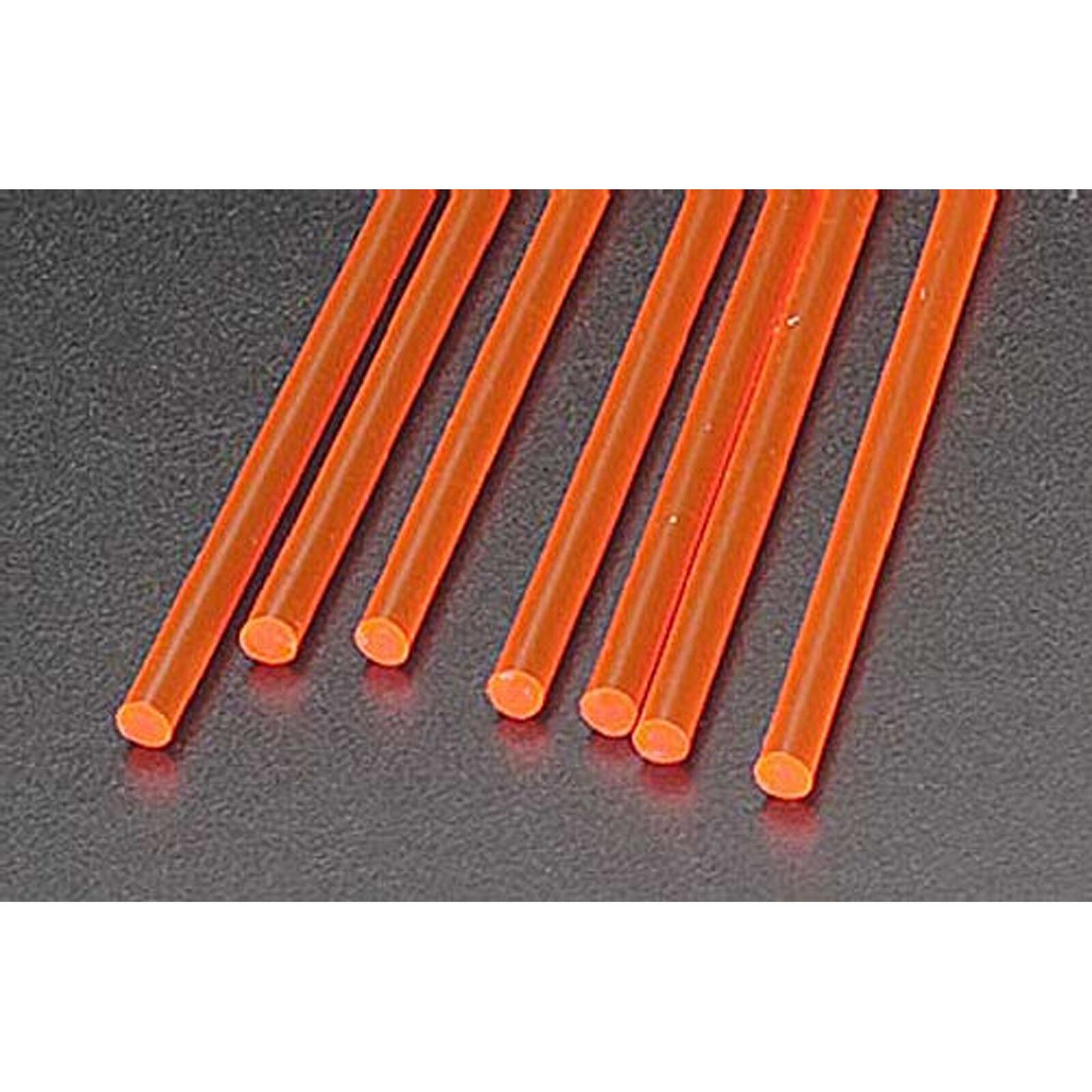 "FARR-4H Fluor Red Rod,1/8"" (7)"