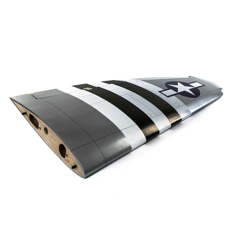 LH Wing with Aileron & Flap: P-47D Thunderbolt 20cc