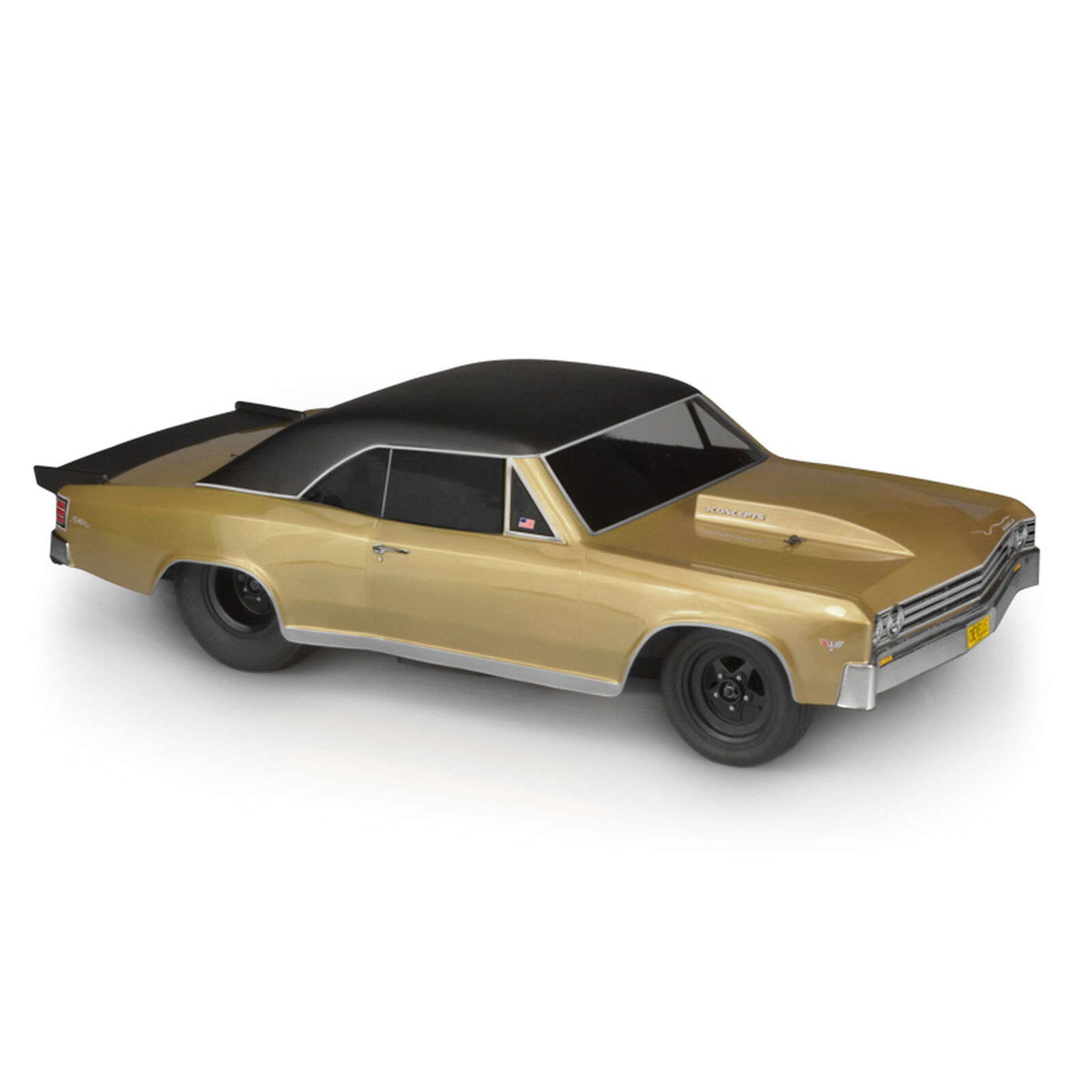 1/10 1967 Chevy Chevelle SCT Clear Body