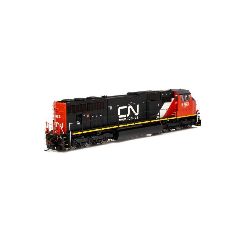 HO SD75I CN Web Address Logo #5763