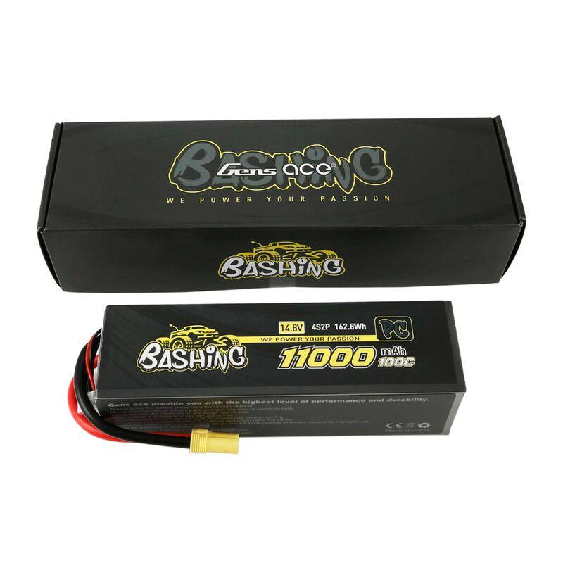 14.8V 11000mAh 4S 100C LiPo: EC5