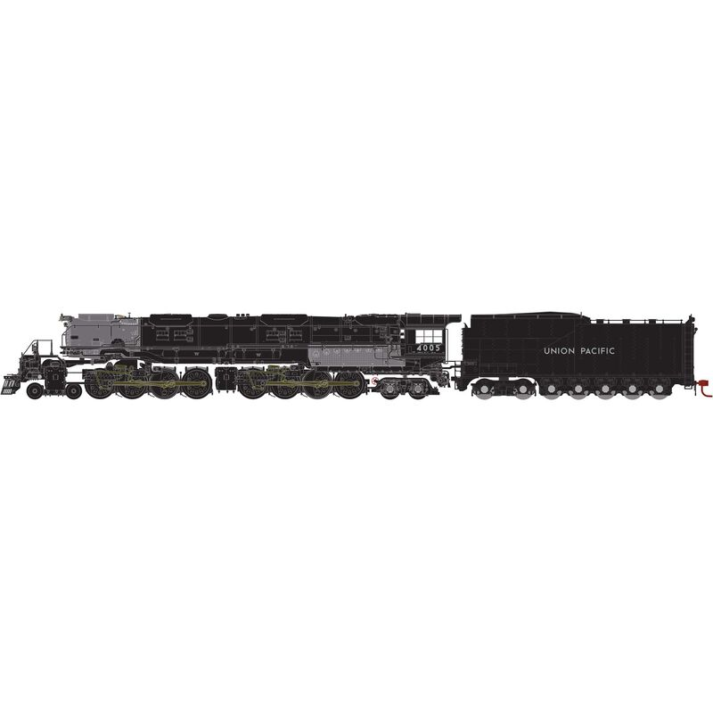 HO 4-8-8-4 Big Boy with DCC & Sound UP #4005