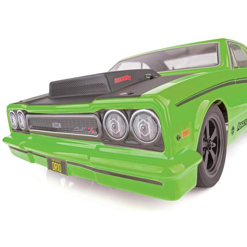 DR10 Drag Race Car RTR  Green