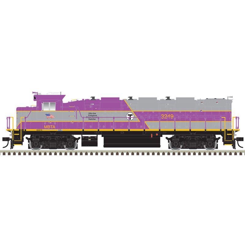HO Trainman NRE Genset II MBTA #3249