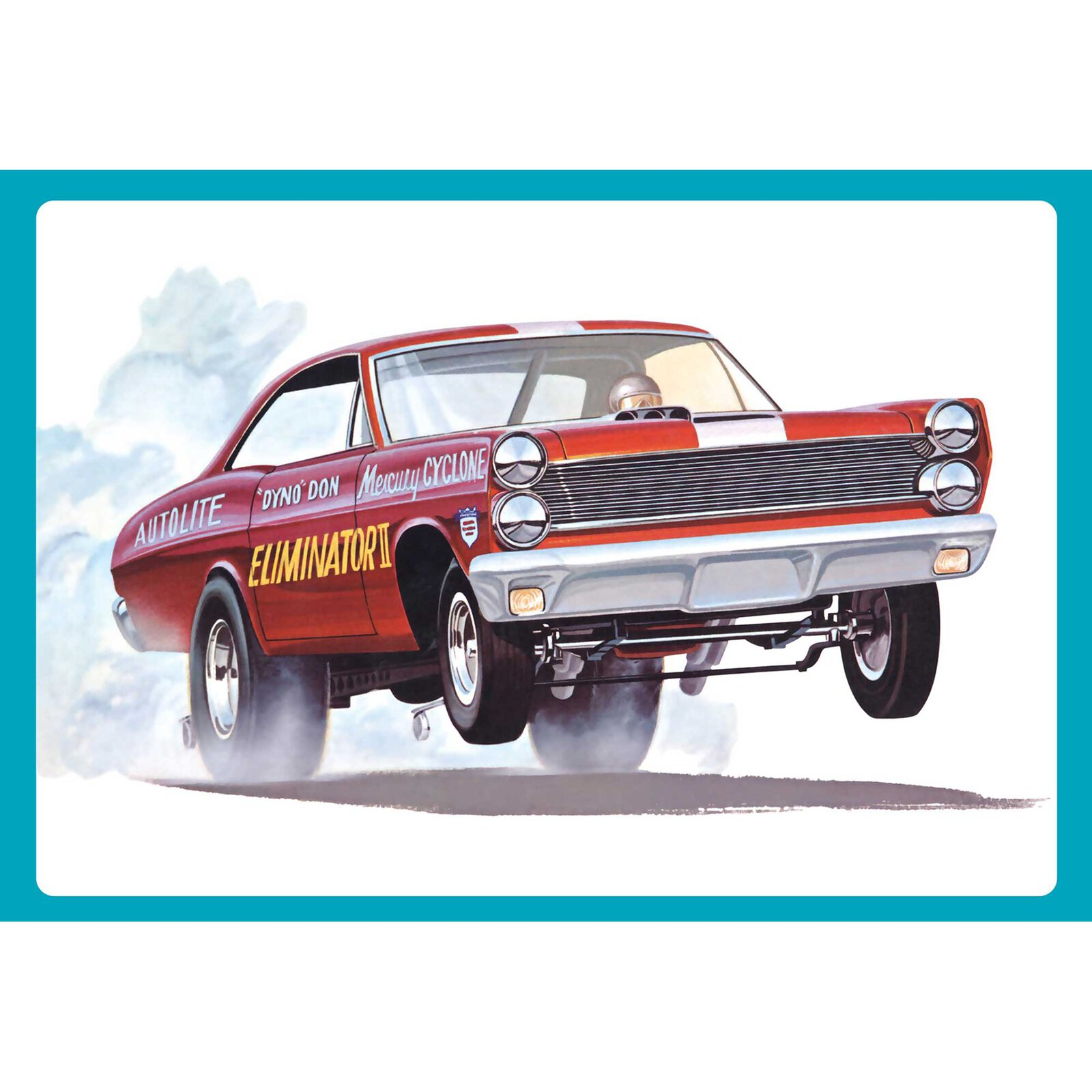 1/25 1967 Mercury Cyclone Eliminator II Dyno Don