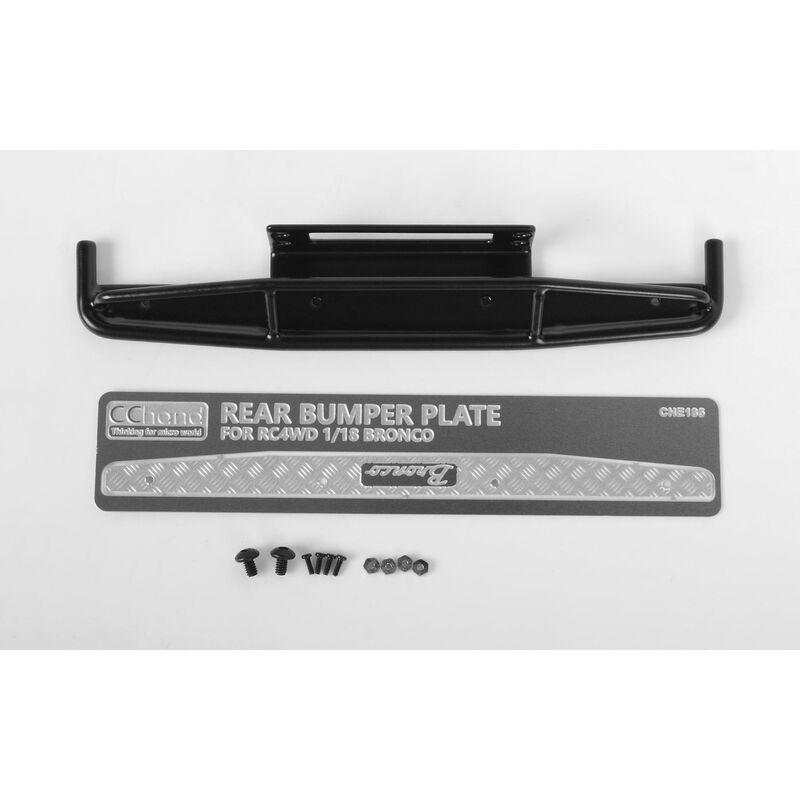1/18 Rear Bumper, Black: Gelande II BlackJack RTR