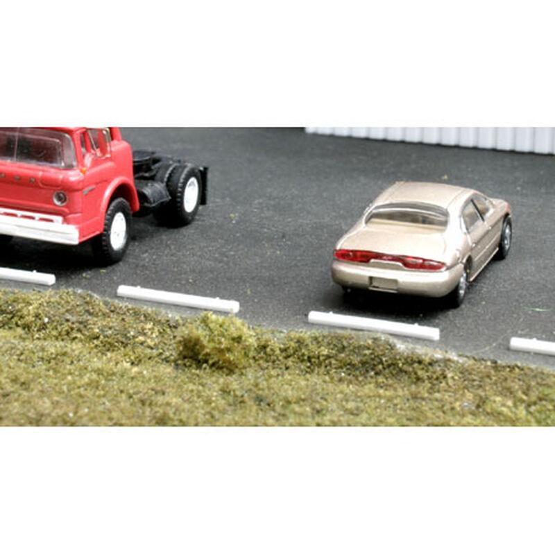HO Concrete Car Stops (20)