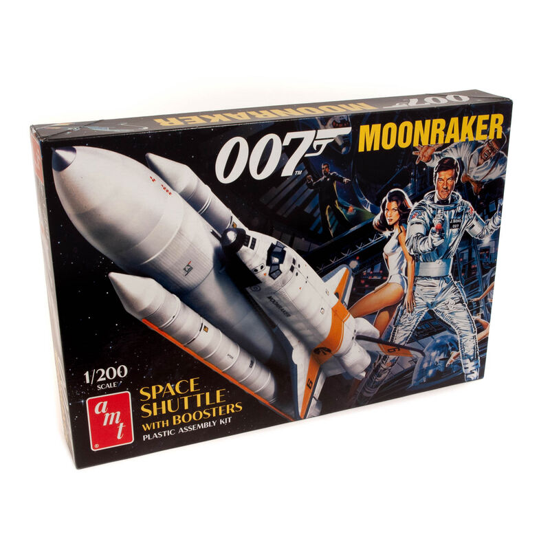 1/200 Moonraker Shuttle with Boosters, James Bond