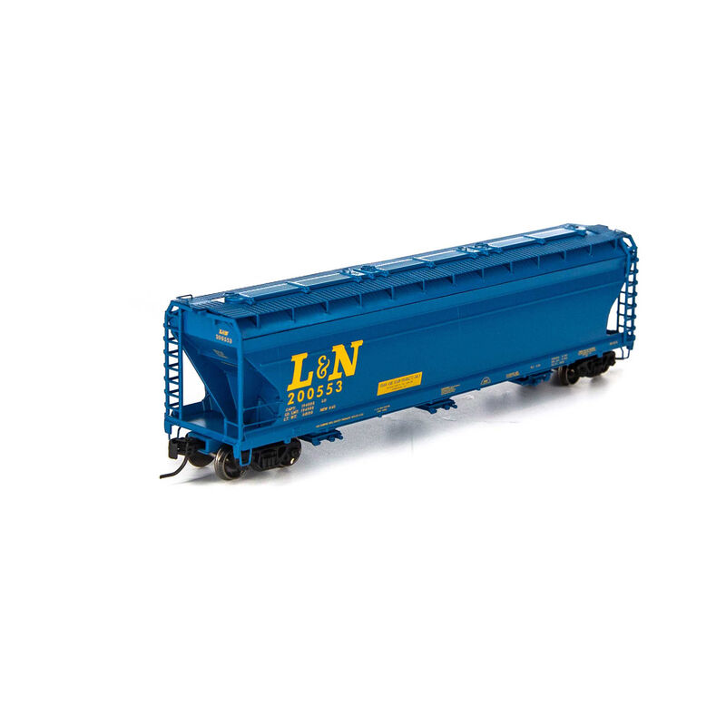 N ACF 4600 3-Bay Centerflow Hopper L&N #200553