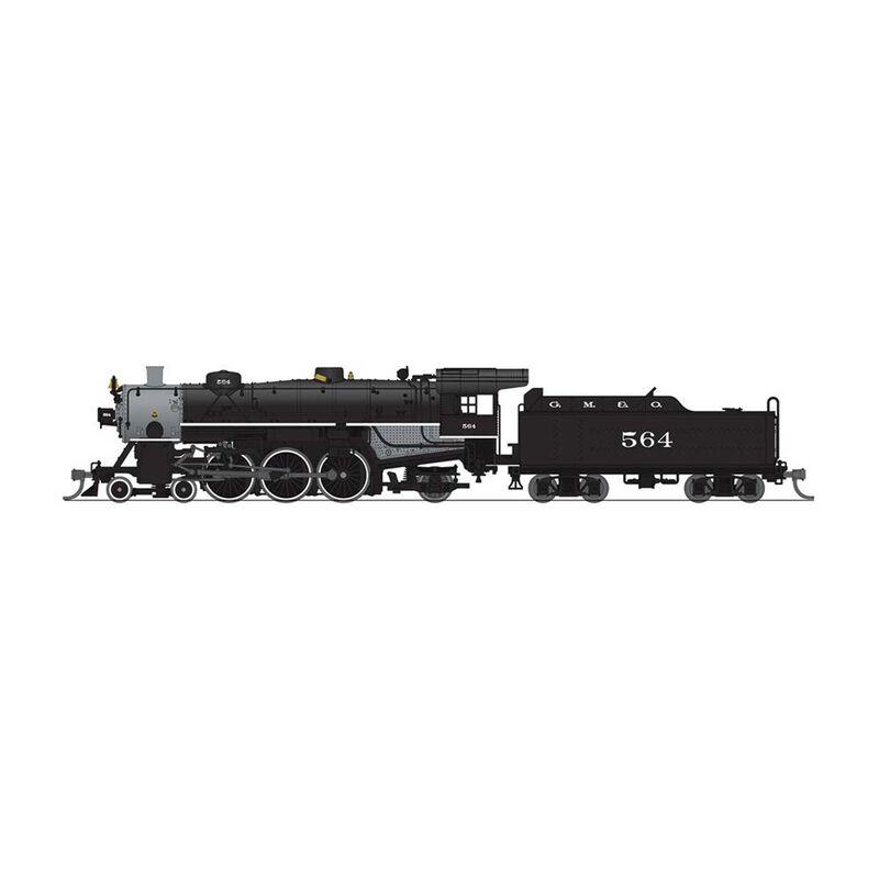 N Paragon3 USRA Light Pacific 4-6-2, GM&O #564