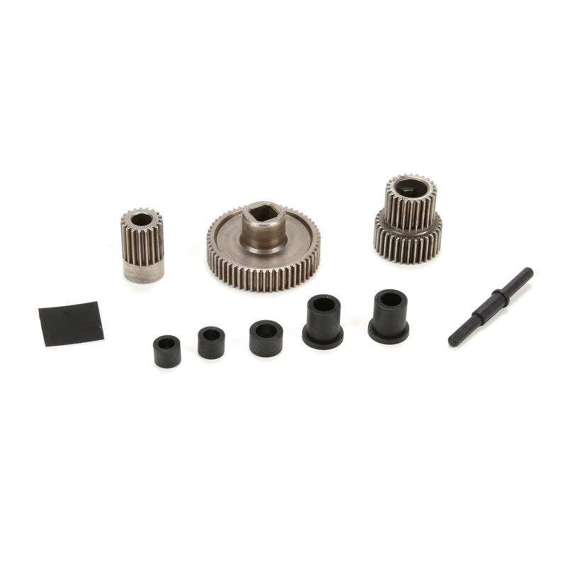Center Transmission Gear Set and Spacers: ASN
