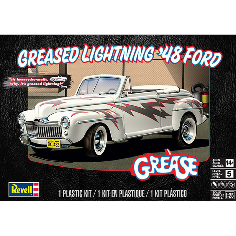 1 25 Greased Lightning 1948 Ford Convertible