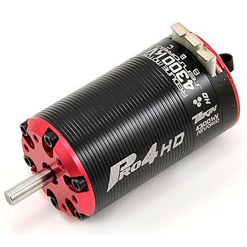 1/10 Pro4 HD SCT 550 2S Sensored Brushless Motor, 4300Kv