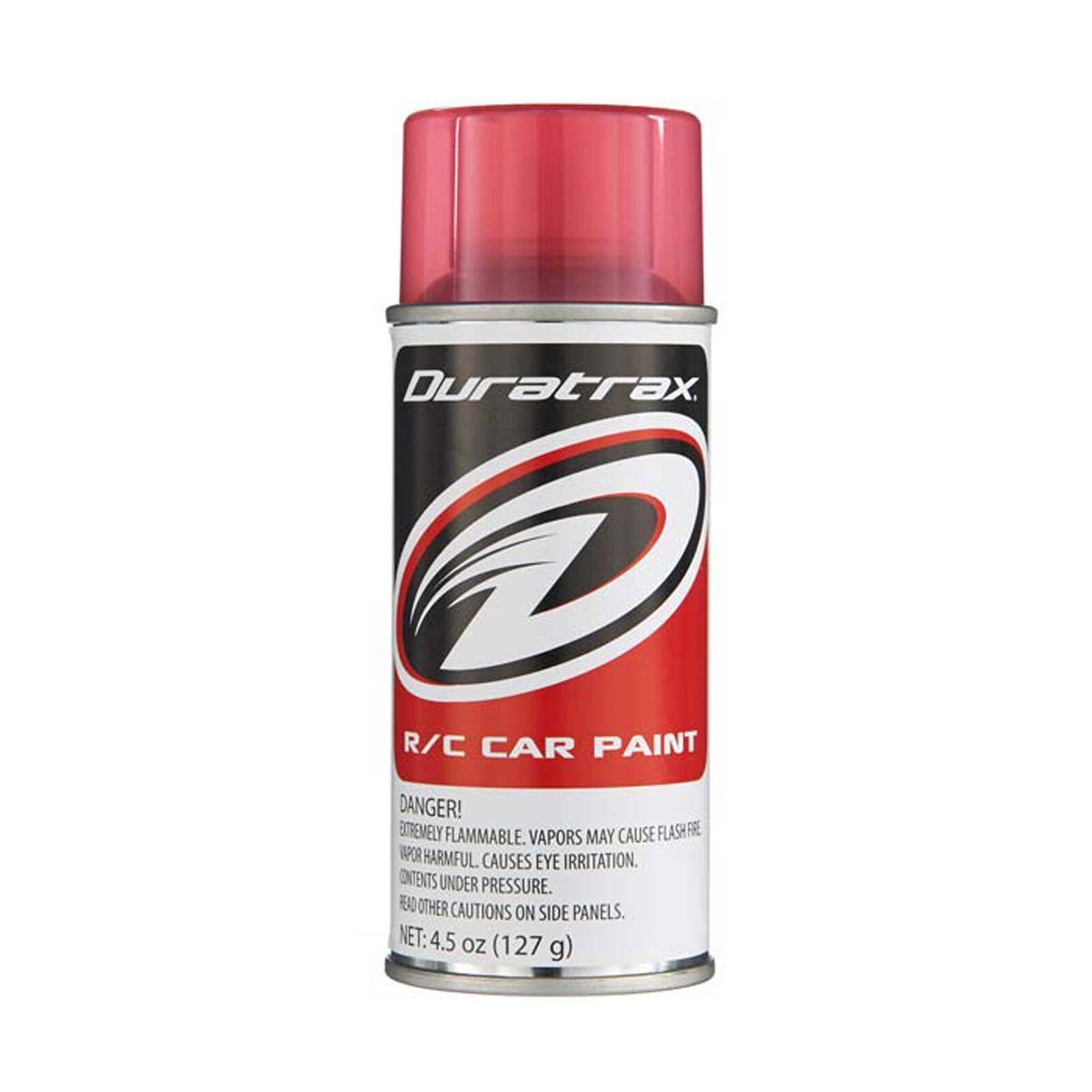 Polycarb Spray, Candy Red, 4.5 oz